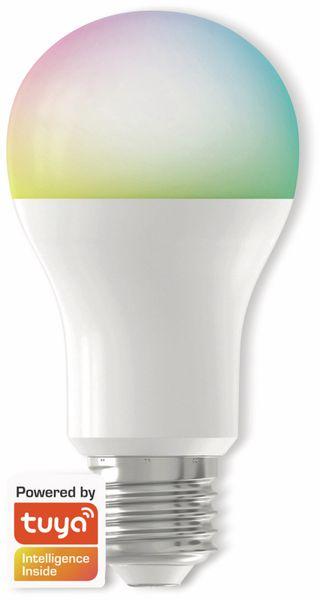 LED-Lampe DENVER SHL-350, 3 Stück, E27, 806 lm, EEK A+, Birne, RGB - Produktbild 2