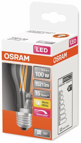 LED-Lampe, OSRAM, E27, A++, 12,00 W, 1521 lm, 2700 K - Produktbild 2