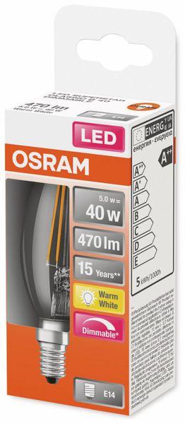 LED-Lampe, OSRAM, E14, A+, 5,00 W, 470 lm, 2700 K - Produktbild 2
