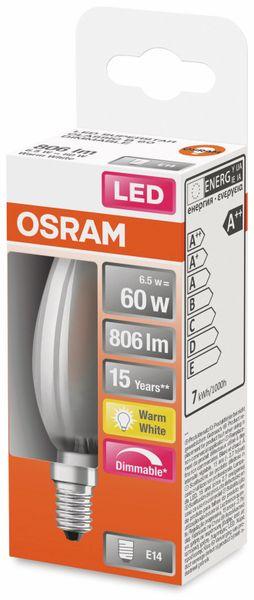 LED-Lampe, OSRAM, E14, A++, 6,50 W, 806 lm, 2700 K - Produktbild 2