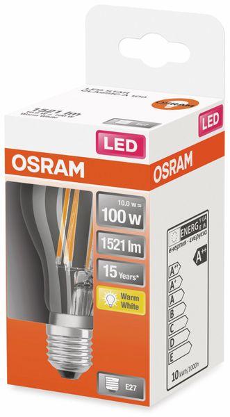 LED-Lampe, OSRAM, E27, A++, 10,00 W, 1521 lm, 2700 K - Produktbild 2