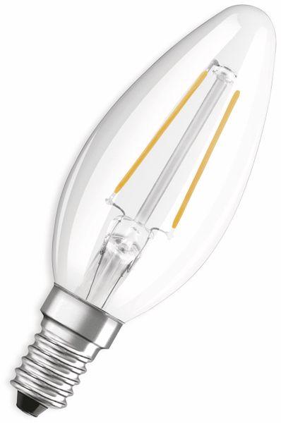 LED-Lampe, OSRAM, E14, A++, 1,50 W, 136 lm, 2700 K