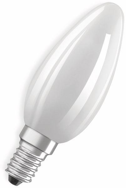 LED-Lampe, OSRAM, E14, A++, 6,00 W, 806 lm, 2700 K