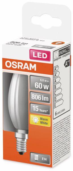 LED-Lampe, OSRAM, E14, A++, 6,00 W, 806 lm, 2700 K - Produktbild 2