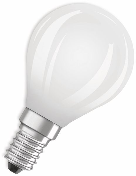 LED-Lampe, OSRAM, E14, A++, 6,50 W, 806 lm, 2700 K