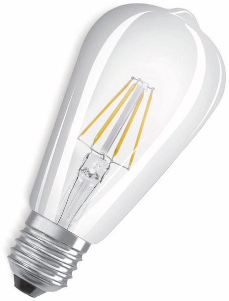 LED-Lampe, OSRAM, E27, A++, 6,50 W, 806 lm, 2700 K