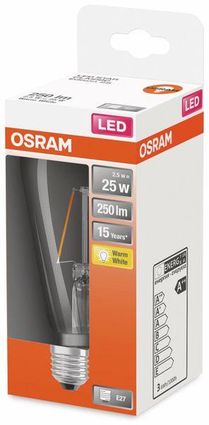 LED-Lampe, OSRAM, E27, A++, 2,50 W, 250 lm, 2700 K - Produktbild 2