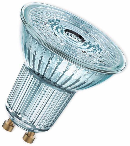 LED-Lampe, OSRAM, GU10, A, 8,30 W, 550 lm, 2700 K