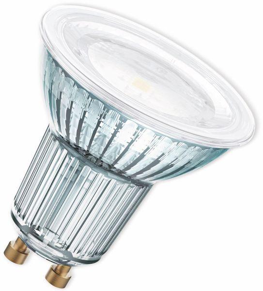 LED-Lampe, OSRAM, GU10, A, 8,30 W, 575 lm, 2700 K