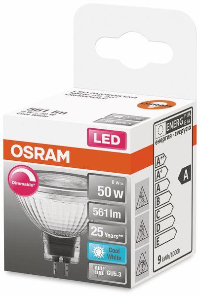 LED-Lampe, OSRAM, GU5.3, A, 8,00 W, 561 lm, 4000 K - Produktbild 2