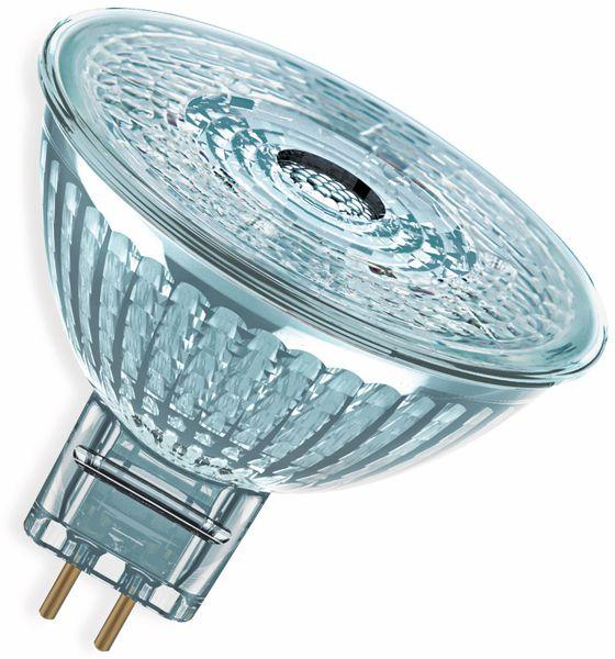 LED-Lampe, OSRAM, GU5.3, A+, 4,90 W, 350 lm, 2700 K