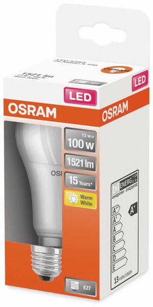 LED-Lampe, OSRAM, E27, A+, 13,00 W, 1521 lm, 2700 K - Produktbild 2