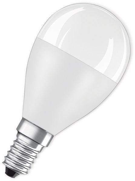 LED-Lampe, OSRAM, E14, A+, 7,50 W, 806 lm, 2700 K