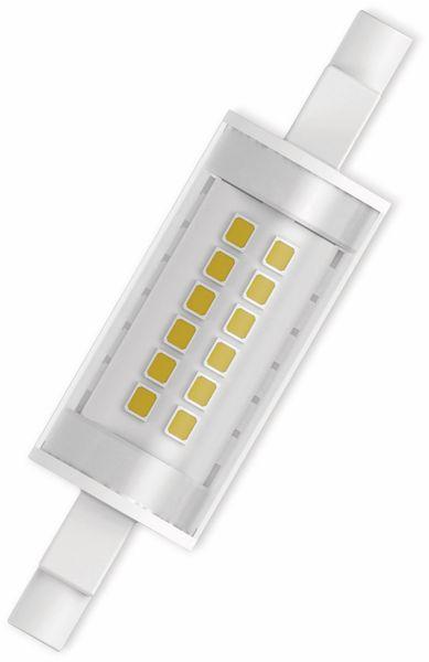 LED-Lampe, OSRAM, R7s, 7 W, 806 lm, 2700 K