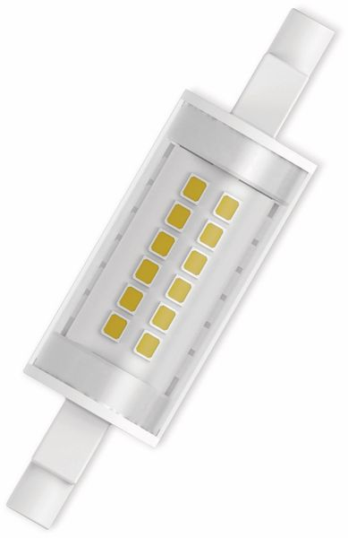 LED-Lampe, OSRAM, R7s, A++, 6,00 W, 806 lm, 2700 K