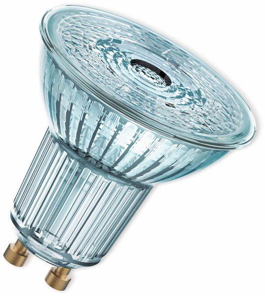 LED-Lampe, OSRAM, GU10, A+, 6,90 W, 575 lm, 2700 K