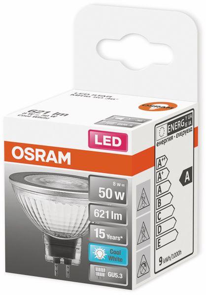 LED-Lampe, OSRAM, GU5.3, A+, 8,00 W, 621 lm, 4000 K - Produktbild 2