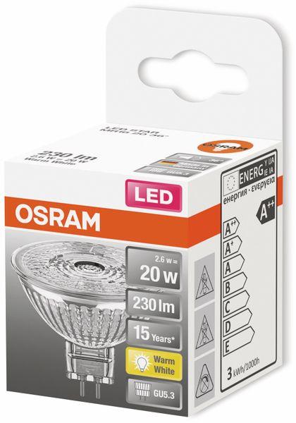 LED-Lampe, OSRAM, GU5.3, A++, 2,60 W, 230 lm, 2700 K - Produktbild 2