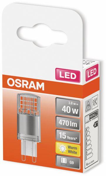 LED-Lampe, OSRAM, G9, A++, 3,80 W, 470 lm, 2700 K - Produktbild 2