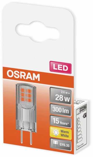 LED-Lampe, OSRAM, GY6.35, A++, 2,60 W, 300 lm, 2700 K - Produktbild 2