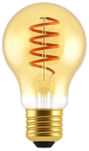 LED-Lampe, BLULAXA Vintage flex Filament, E27, 5W, 250 lm, 1800K, gold