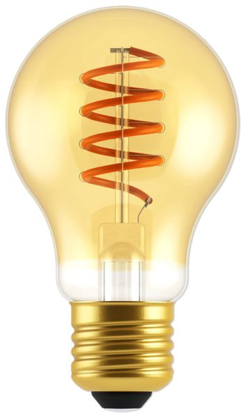 LED-Lampe, BLULAXA Vintage flex Filament, EEK: A, E27, 5W, 250 lm, 1800K, gold
