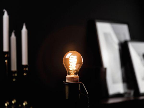 LED-Lampe, BLULAXA Vintage flex Filament, E27, 5W, 250 lm, 1800K, gold - Produktbild 2