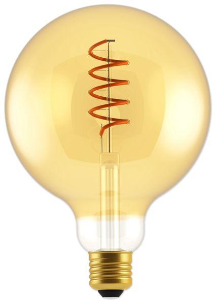 LED-Lampe, BLULAXA Vintage flex Filament, G125, 5W, 250lm, 1800K, gold
