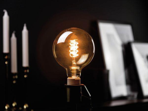 LED-Lampe, BLULAXA Vintage flex Filament, G125, 5W, 250lm, 1800K, gold - Produktbild 2