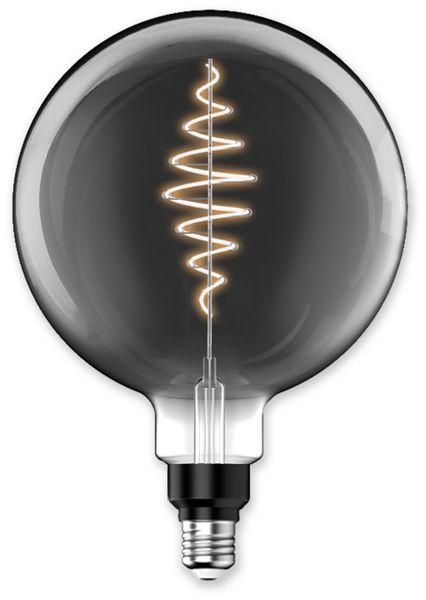 LED-Lampe, BLULAXA Vintage flex Filament, EEK: B, G200, 8,5W, 200lm, 1800K, smoky