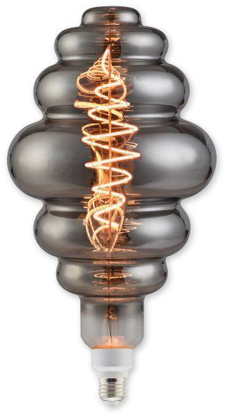 LED-Lampe, BLULAXA Vintage flex Filament, EEK: B, Honeycomb, 8,5W, 200lm, 1800K, smoky
