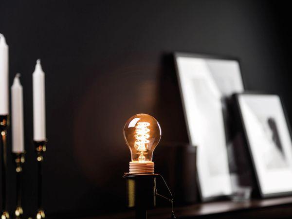 LED-Lampe, BLULAXA Vintage flex Filament, EEK: B, A60, 5W, 120lm, 1800K, smoky - Produktbild 2