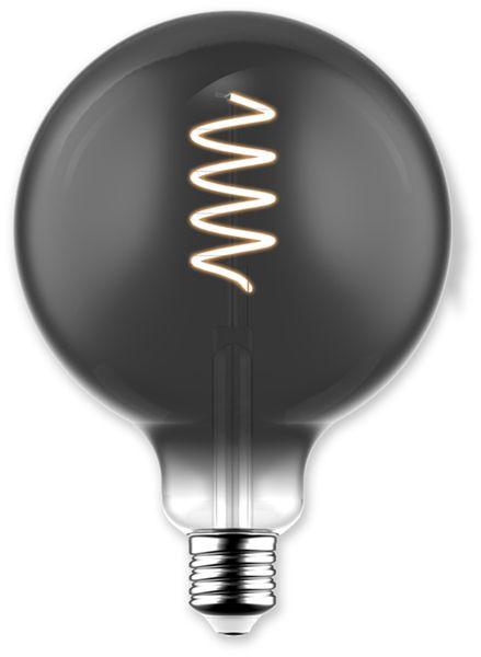 LED-Lampe, BLULAXA Vintage flex Filament, EEK: B, G125, 5W, 140lm, 1800K, smoky