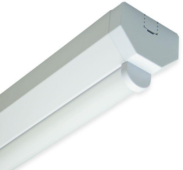 LED Wand- und Deckenleuchte, MÜLLER-LICHT, 20300518, Basic 1/120, weiß