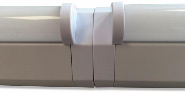 LED Wand- und Deckenleuchte, MÜLLER-LICHT, 20300518, Basic 1/120, weiß - Produktbild 2