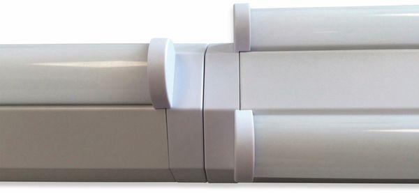 LED Wand- und Deckenleuchte, MÜLLER-LICHT, 20300518, Basic 1/120, weiß - Produktbild 3