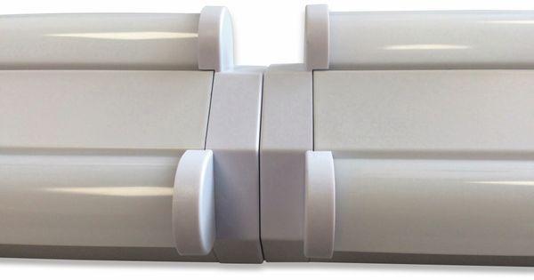 LED Wand- und Deckenleuchte, MÜLLER-LICHT, 20300520, Basic 2/60, weiß - Produktbild 6