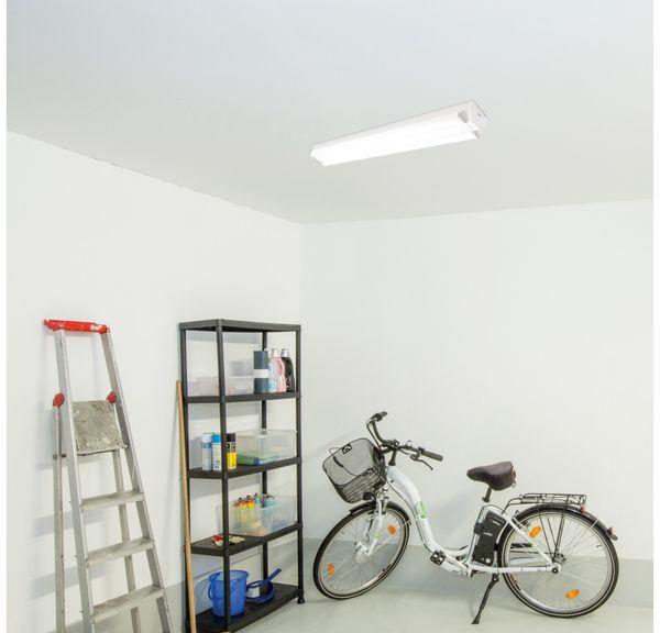 LED Wand- und Deckenleuchte, MÜLLER-LICHT, 20300523, Basic 2/150 , weiß - Produktbild 7