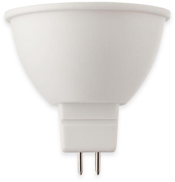 LED-Lampe, Reflektorform, MÜLLER-LICHT, 400370, GU5.3, 4000K, klar