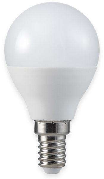 LED-Lampe, Tropfenform, MÜLLER-LICHT, 400257, 3+1 Set, E14 3W, matt - Produktbild 2