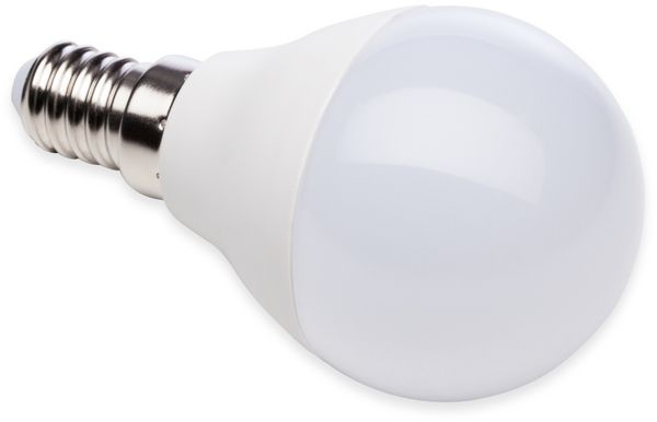 LED-Lampe, Tropfenform, MÜLLER-LICHT, 400259, 3+1 Set, E14, 5.5W, matt - Produktbild 3