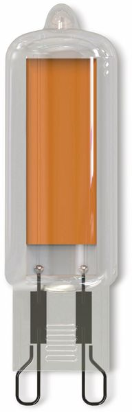 LED-Lampe, Hochvolt Stiftsockel, MÜLLER-LICHT, 400446, G9, 470lm, klar