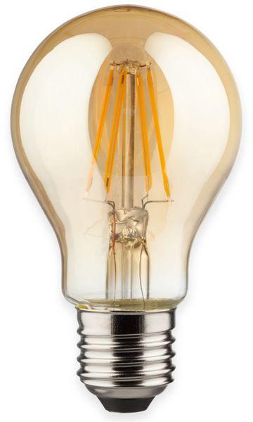 LED-Filament Birnenform, MÜLLER-LICHT, 400320, E27, 2000K, gold