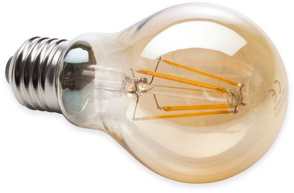 LED-Filament Birnenform, MÜLLER-LICHT, 400320, E27, 2000K, gold - Produktbild 2