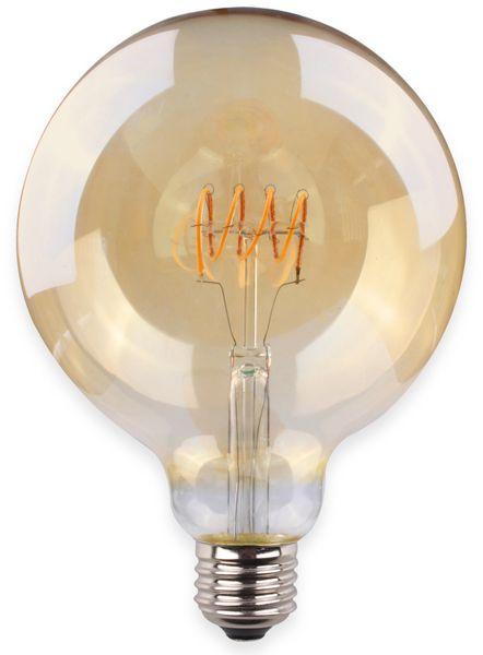 LED-Lampe, Globe, MÜLLER-LICHT, 400409, Flex G125, 2000K, gold