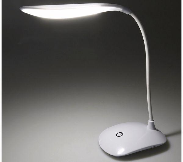 LED-Schreibtischleuchte CHILITEC 23107, mit Touch-Schalter, 6000K, weiß - Produktbild 3