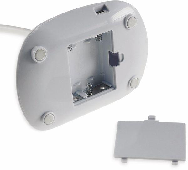 LED-Schreibtischleuchte CHILITEC 23107, mit Touch-Schalter, 6000K, weiß - Produktbild 4