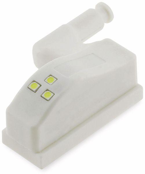 LED-Schrankleuchte CHILITEC 23106, 4er-Set, 6000K, weiß - Produktbild 3