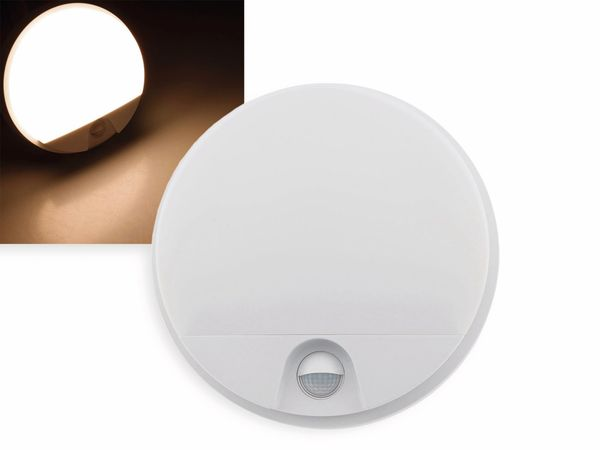 LED Wandleuchte CHILITEC Payar, 3000K, EEK: A+, 15 W, 1100 lm, Bewegungsmelder