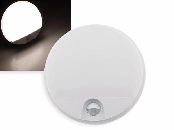 LED Wandleuchte CHILITEC Payar, 4000K, EEK: A+, 15 W, 1150 lm, Bewegungsmelder
